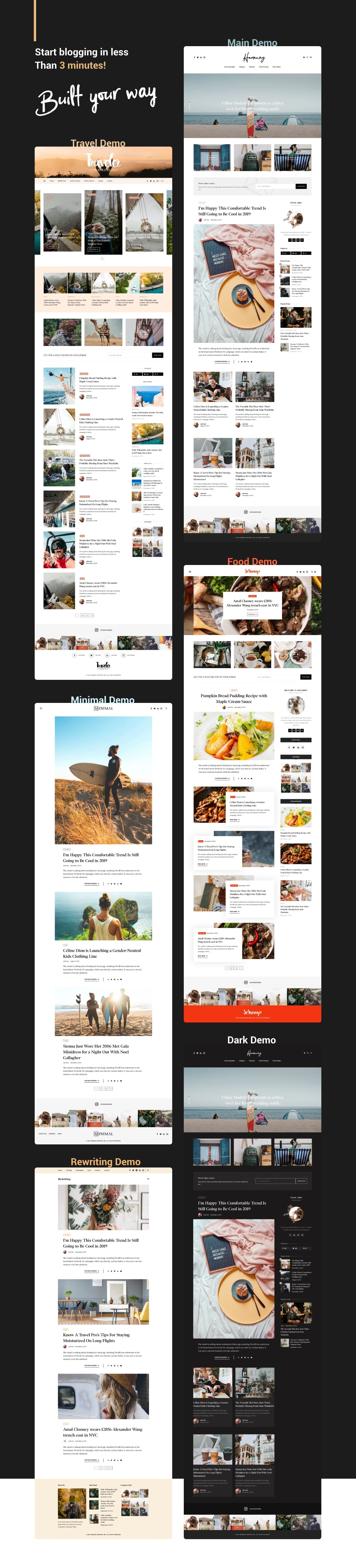Harmuny - Modern WordPress Blog Theme - 4